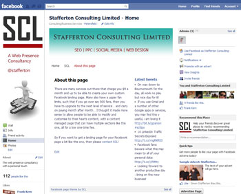 SCL Facebook Landing Page