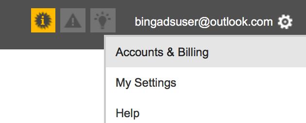 Bing Ads Settings