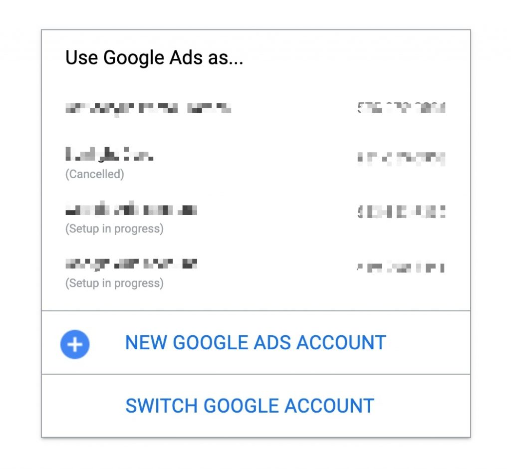 choose-google-ads-account